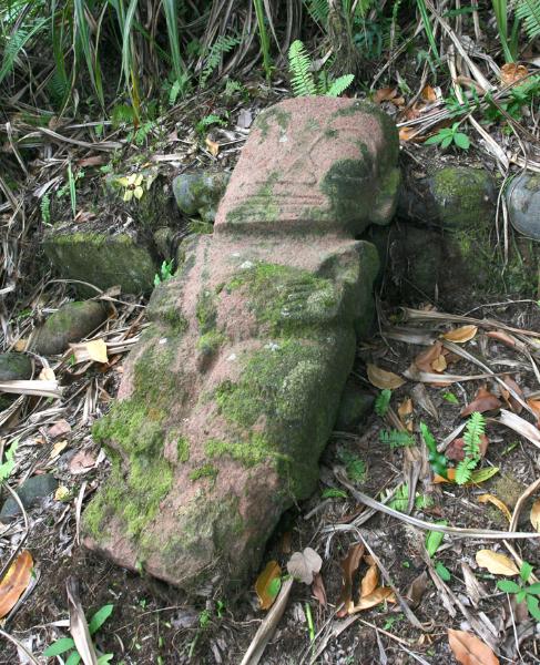 La tiki tant cherché apparaît dans toute sa splendeur sur le me'ae Haapaetai. Il est de sexe masculin et le sexe en question n'a pas été cassé par un missionnaire « bien intentionné », preuve que la statue est resté cachée.