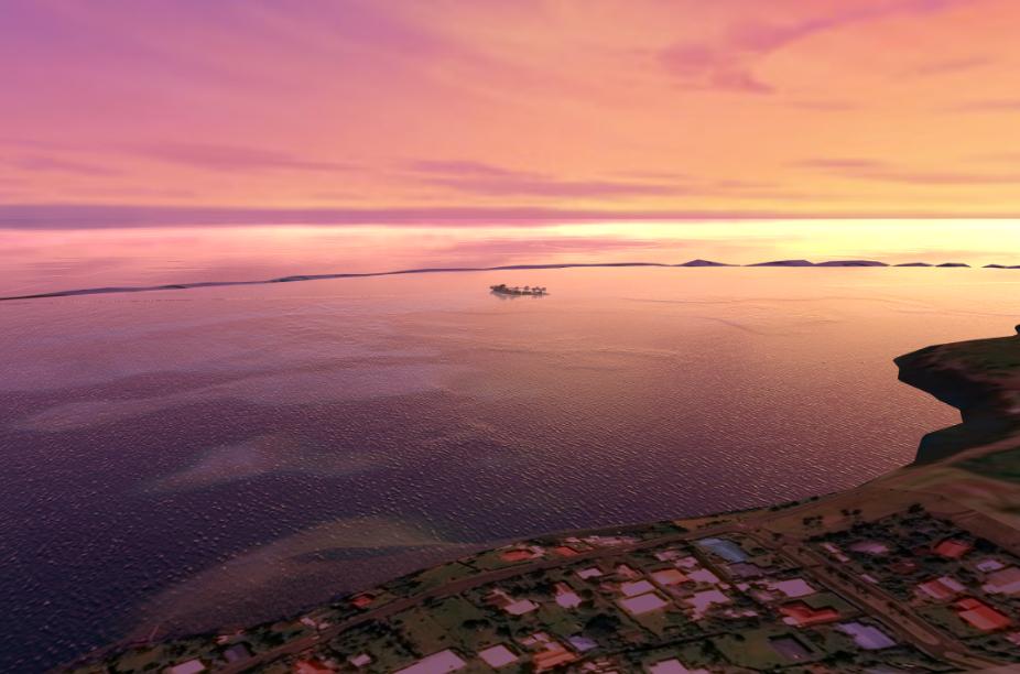 Après avoir visité plusieurs lieux, comme les lagons de Raiatea-Tahaa ou Tupai, les porteurs du projet envisagent finalement de s'installer au sud de Tahiti