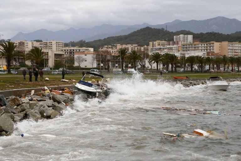 La tempête Bruno faiblit en Corse, fin de la vigilance orange