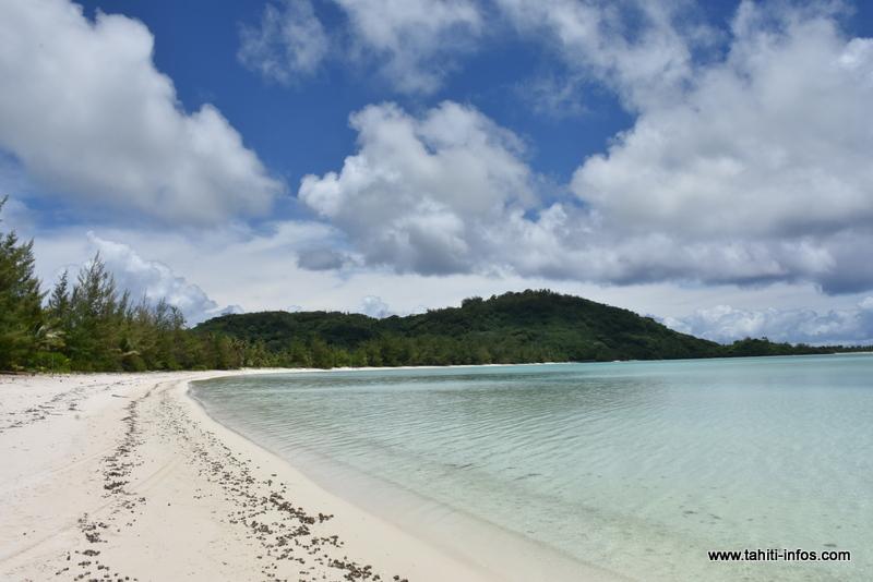 La grande plage de Maiao.