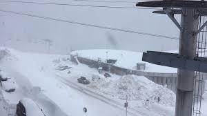 Tempête: les stations des Alpes du Nord ferment tout ou partie de leur domaine