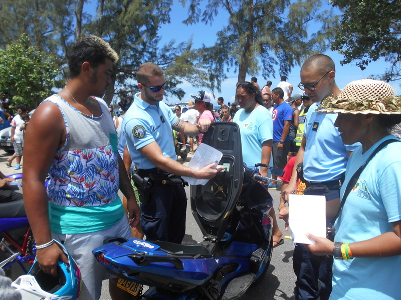 Près de 1 500 participants ont répondu présent mardi, pour la 10ème édition du Tere fa'a'ati ia Mo'orea.