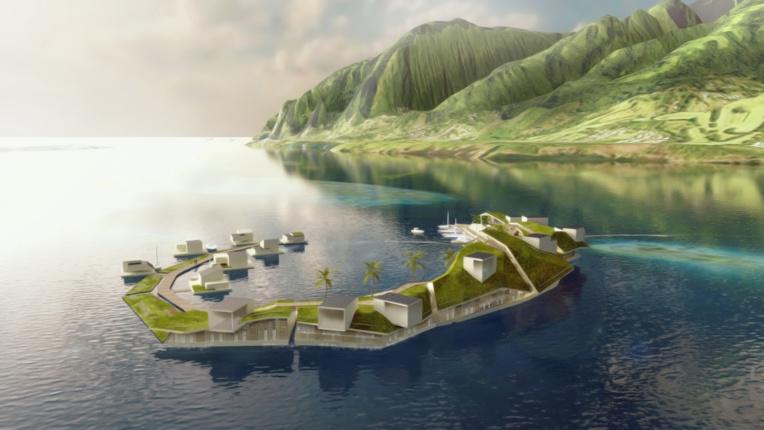 Après avoir visité plusieurs lieux, comme les lagons de Raiatea-Tahaa ou Tupai, les porteurs du projet envisagent finalement de s'installer au sud de Tahiti.