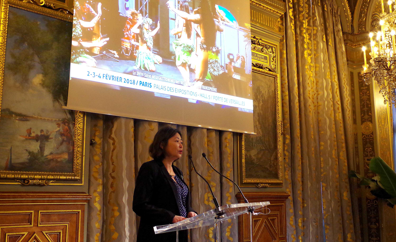 Salon de la gastronomie des outre mer la polyn sie for Salon gastronomie paris