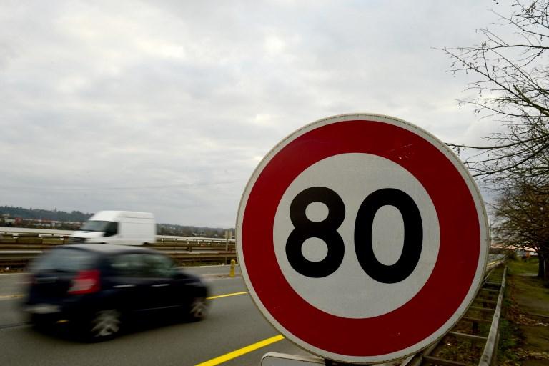 Routes secondaires à 80 km/h: une baisse de vitesse pour diminuer le nombre de morts