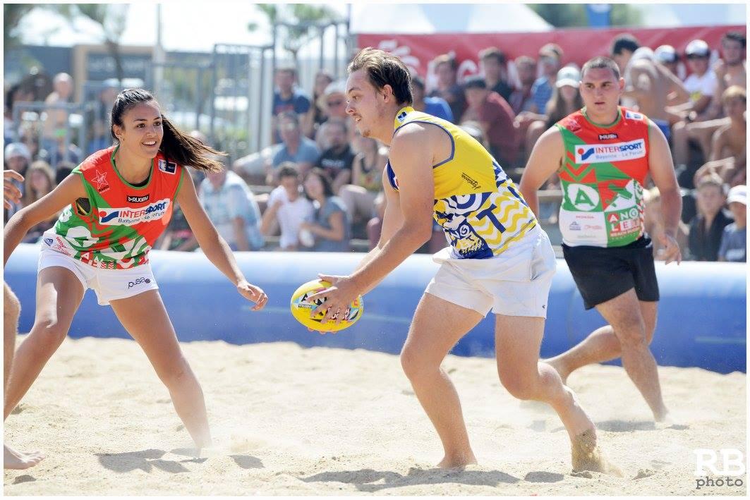 Le beach rugby se développe en métropole