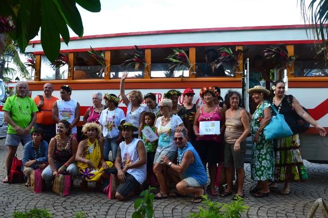 En 2017,  150 personnes avaient participé au Tere Fā'ati iā Tahiti-Nui.