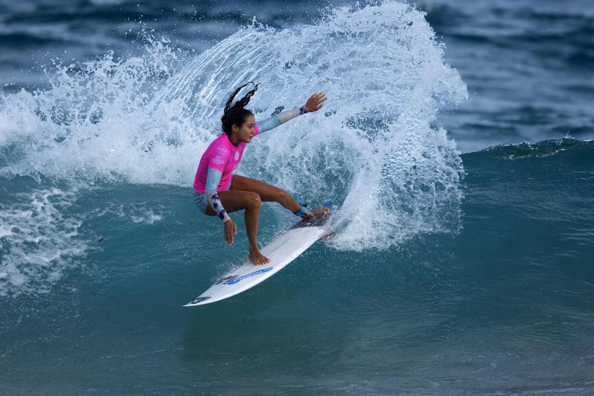 Un parcours sans faute face à d'excellentes surfeuses