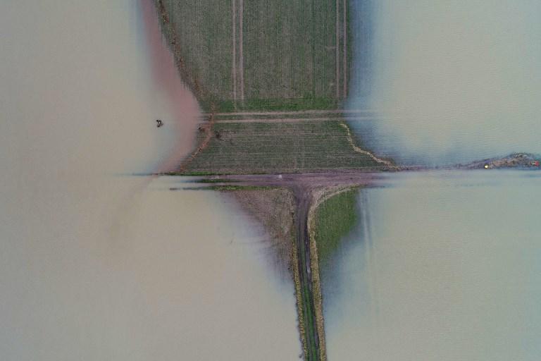Climat: risque accru d'inondations fluviales dévastatrices