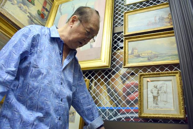 Paul Yeou Chichong, 84 ans et 350 tableaux