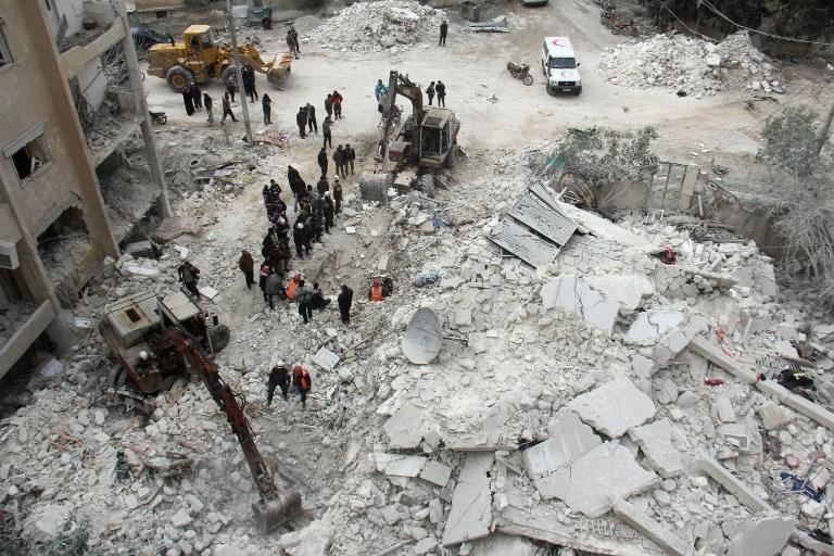 Syrie: forte résistance des jihadistes au régime à Idleb