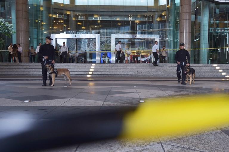 Effondrement d'une mezzanine à la Bourse de Jakarta: 75 blessés