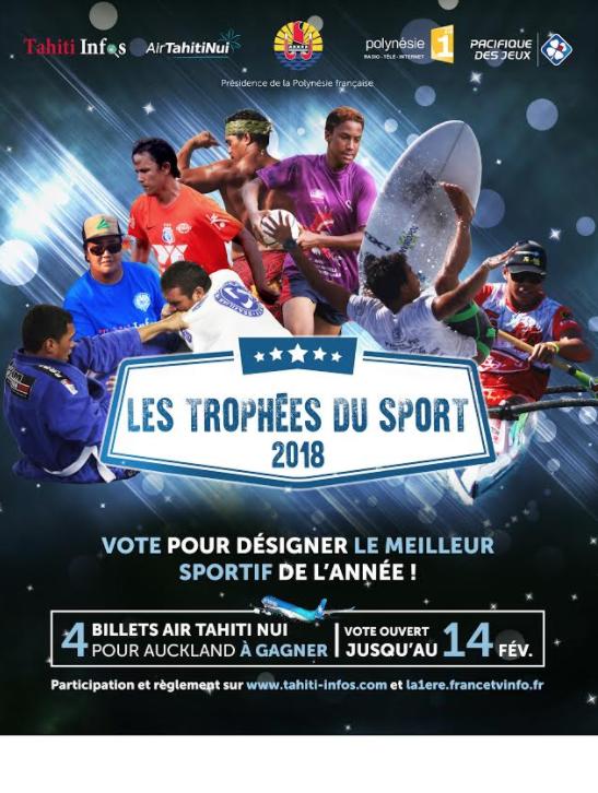 Les Trophées du Sport 2018, c'est parti !