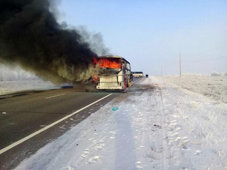 Kazakhstan: 52 morts dans un accident d'autocar