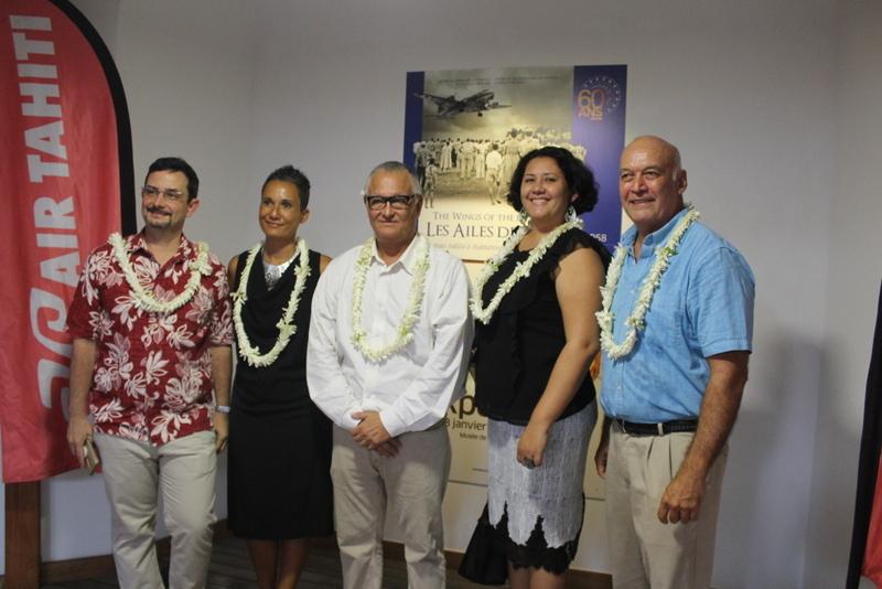L'inauguration de l'exposition Les Ailes des îles a eu lieu mercredi soir au Musée de Tahiti et des îles.