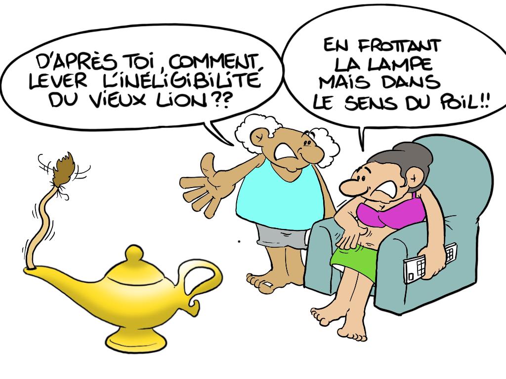 """"""" L'inéligibilité de Flosse """" par Munoz"""