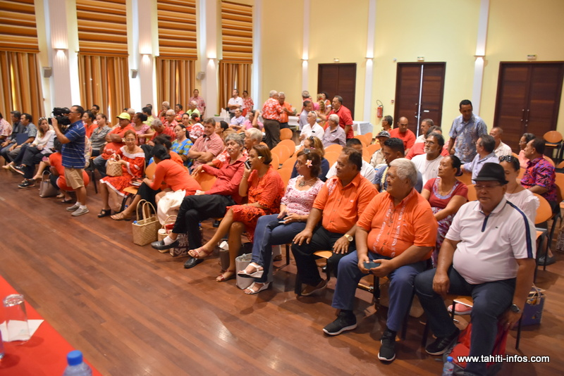 Territoriales : le Tapura se met en ordre de marche