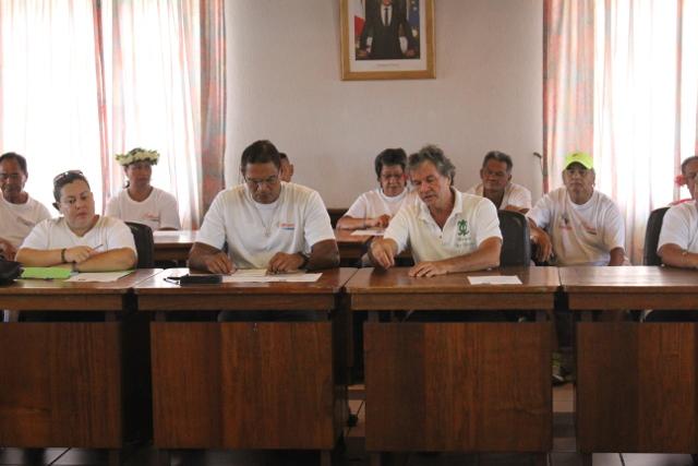 Territoriales : Heiura-Les Verts et Tau Hotu rau côte à côte