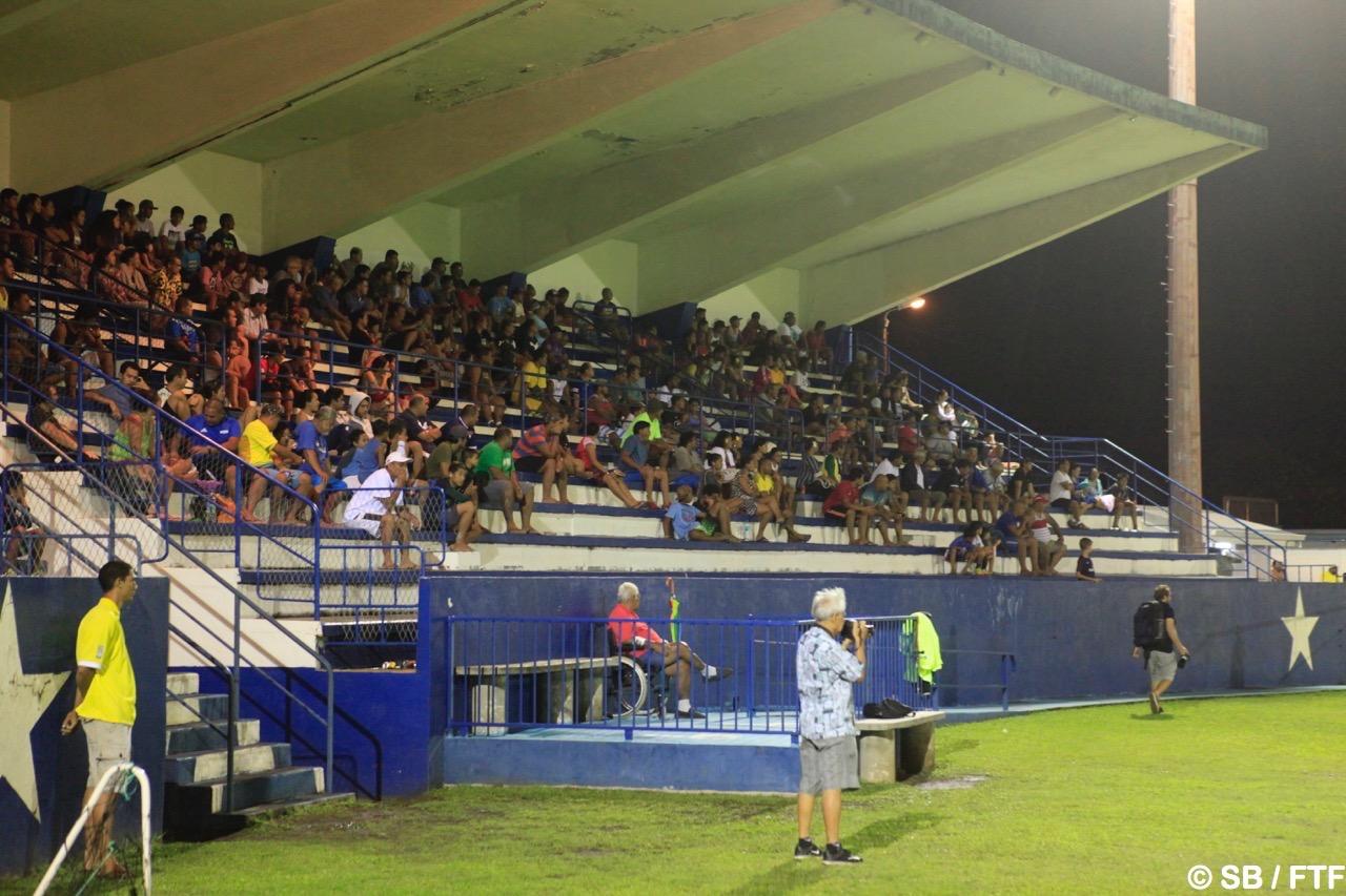 Le public est venu nombreux soutenir son équipe
