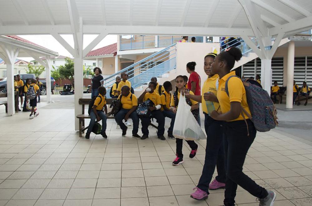 20% d'élèves en moins sur les îles du nord après l'ouragan Irma