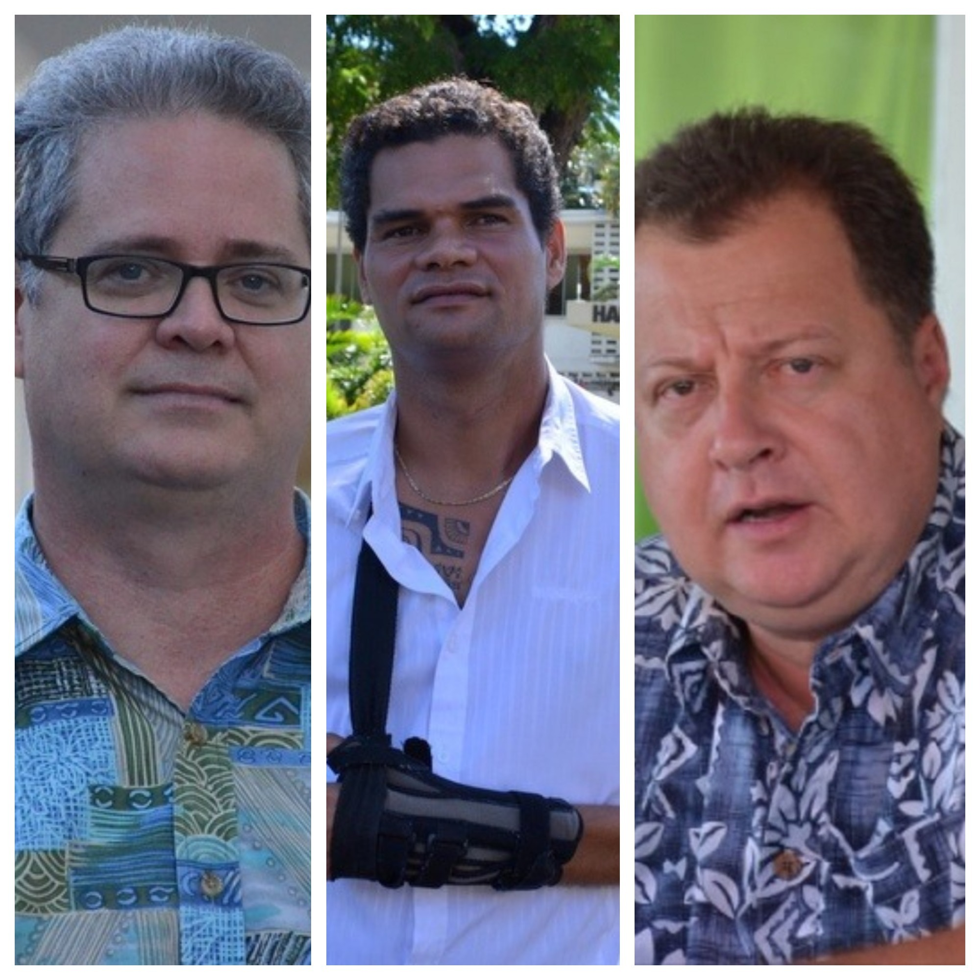 Territoriales : une liste avec Bruno Sandras, Teiva Manutahi et Heimana Garbet