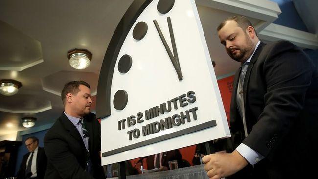 Minuit moins 2 minutes, le risque nucléaire fait avancer l'horloge de l'apocalypse
