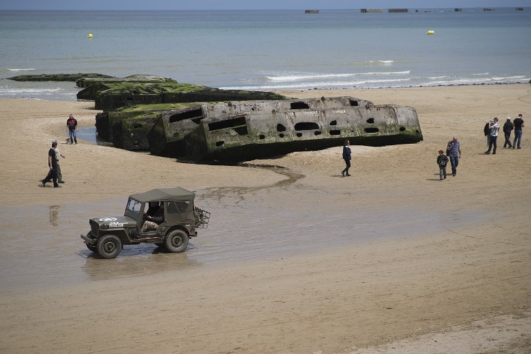 Les plages du Débarquement en Normandie candidates à l'Unesco
