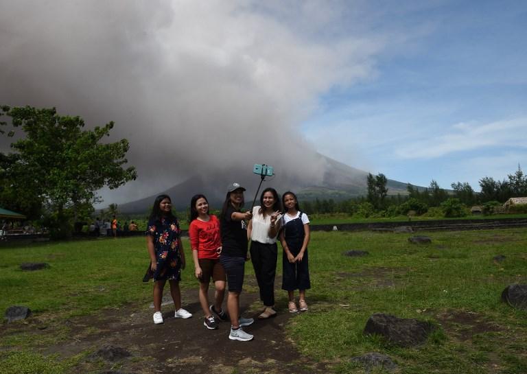 Philippines: le volcan fait des heureux dans l'industrie touristiques