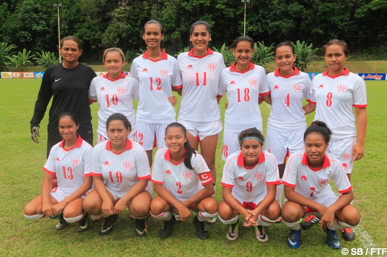 La sélection de Tahiti U16