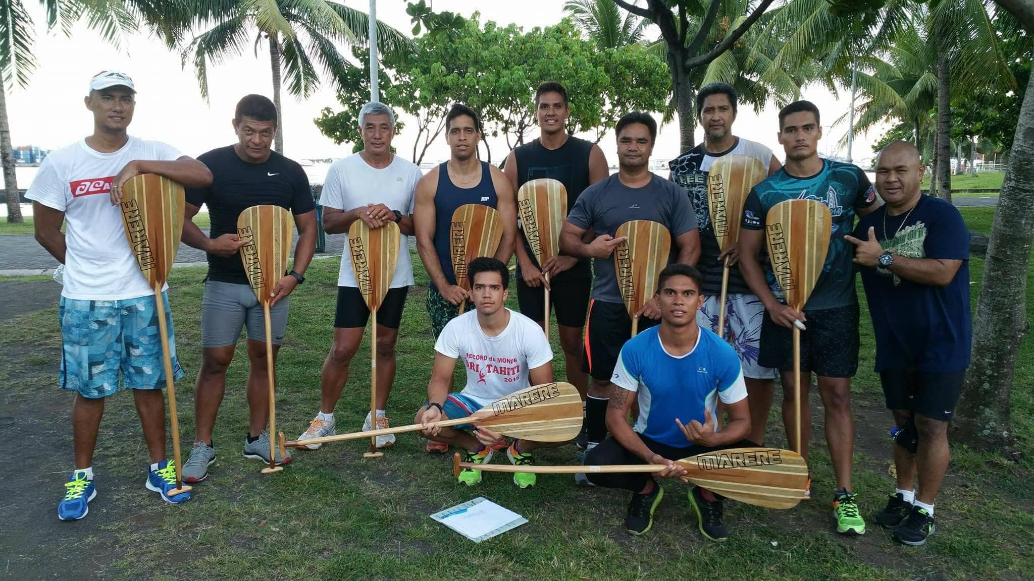 La section vaa a déjà démarré ses entrainements pour la Hawaiki Nui Vaa.