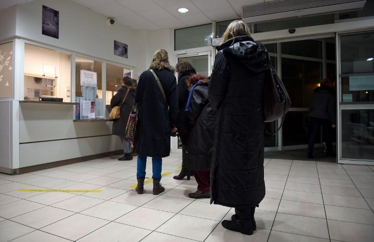 Grippe: près de 3.000 morts jusqu'à début janvier