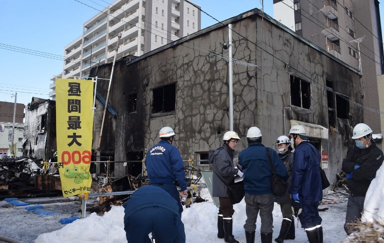 Japon: 11 morts dans l'incendie d'un centre d'accueil pour personnes âgées