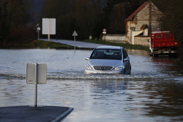 Près de Rouen, les maisons inondées au gré des marées