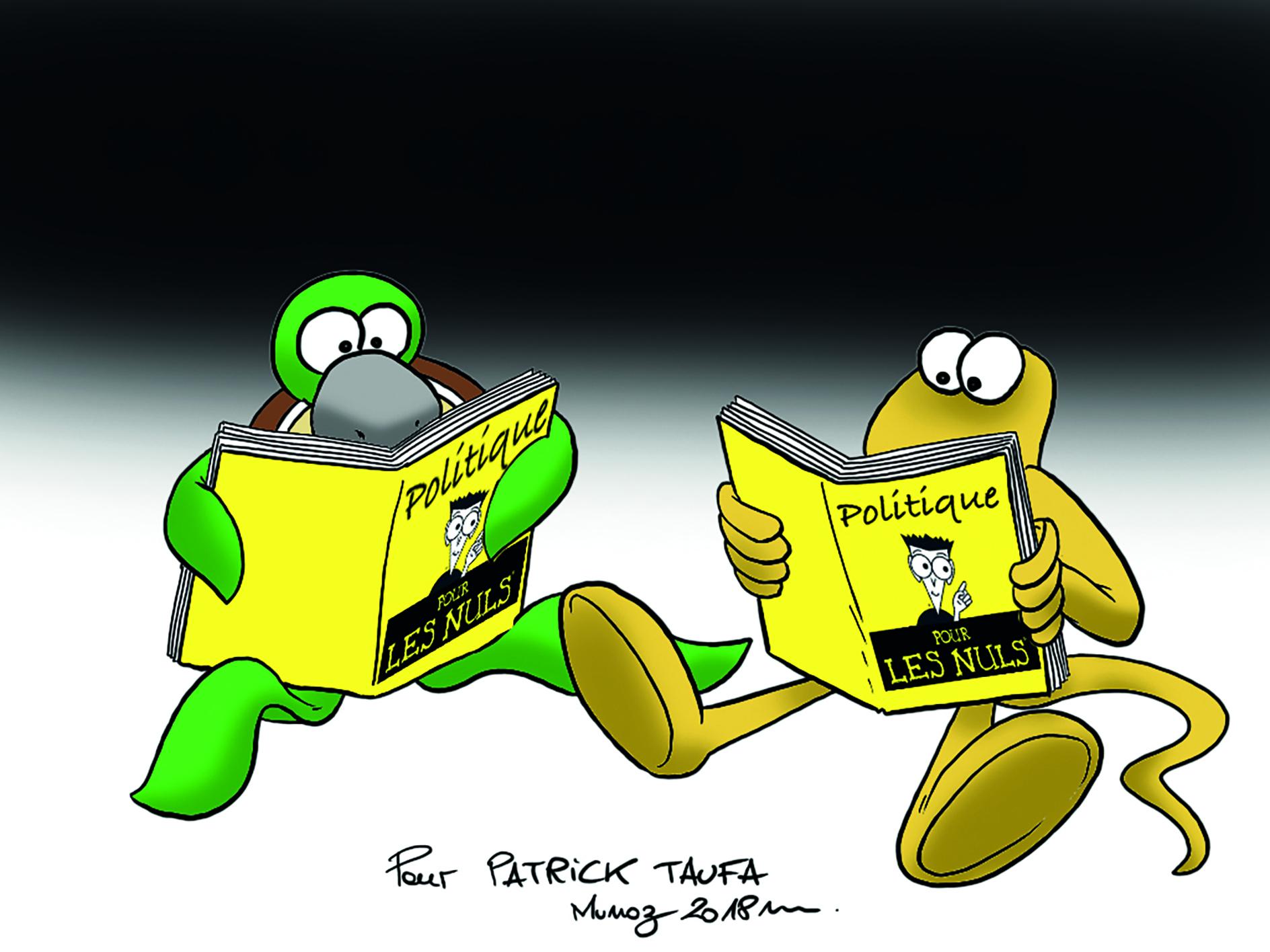 """"""" La politique pour les nuls """" par Munoz"""