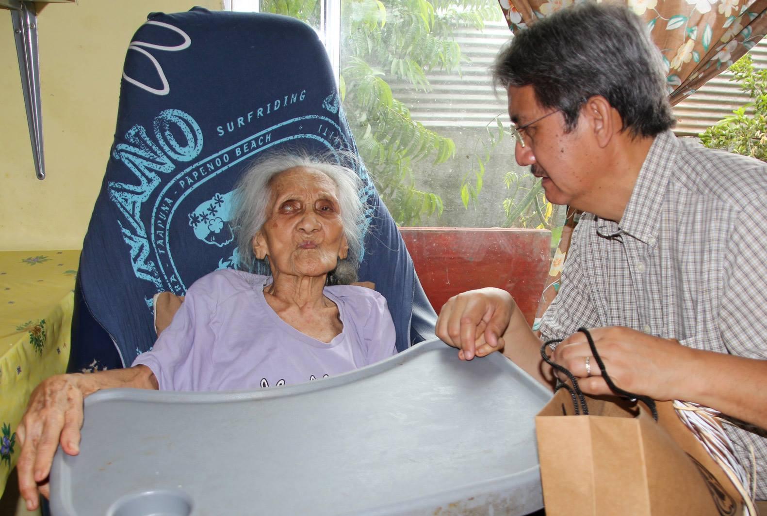 Titirei Tiaoao,95 ans