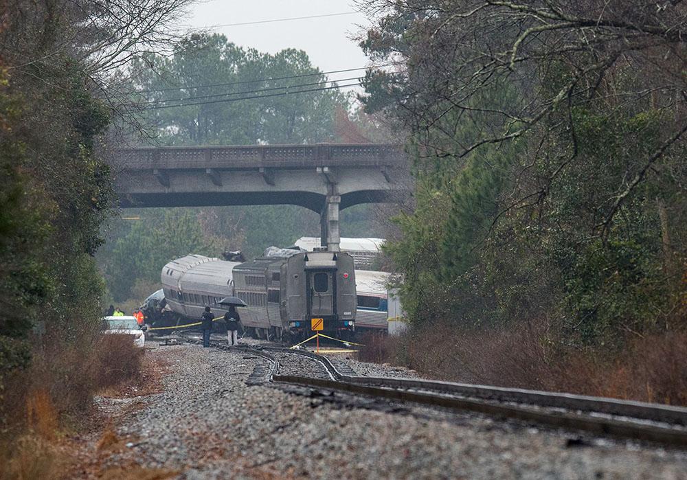Etats-Unis: deux morts dans une collision entre deux trains en Caroline du Sud