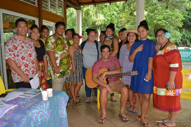 Le comité organisateur de la journée des langues et cultures polynésiennes ont présenté leur événement à la presse, lundi matin.