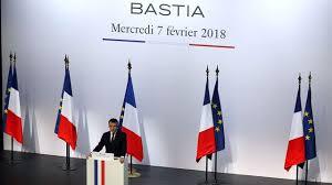 """Macron contre la """"co-officialité"""" de la langue corse"""