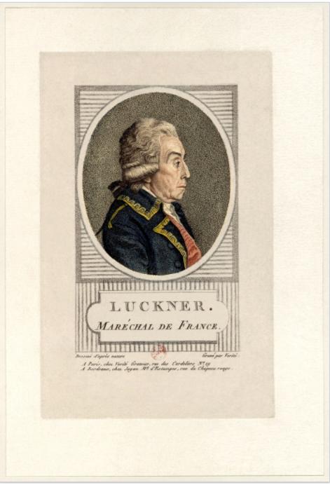 Le maréchal Nicolas Luckner (1722-1794) fut l'arrière grand-père de Félix ; il combattit aux côtés des révolutionnaires français en tant que chef de l'armée du Rhin. C'est à lui que Rouget de Lisle dédia, en avril 1792, son « Chant de guerre pour l'armée du Rhin », plus connu sous le nom de « La Marseillaise ». Il fut décapité en janvier 1794 par les extrémistes de la Terreur, malgré ses brillants états de service.