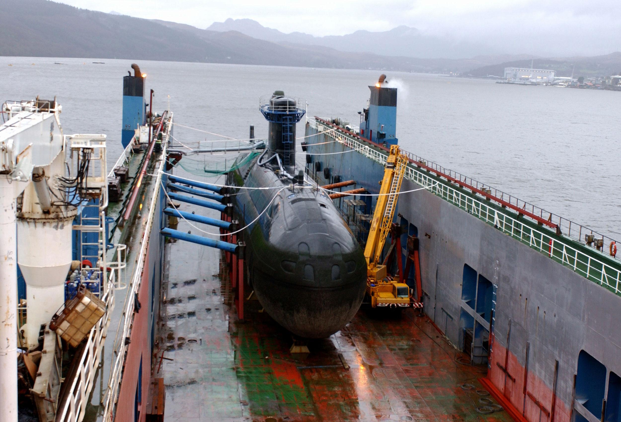 Un sous-marin canadien dans l'ouest du Pacifique, une première en 50 ans