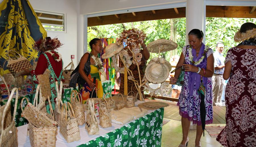 Paea : Un fare artisanal ouvre à côté des grottes de Maraa