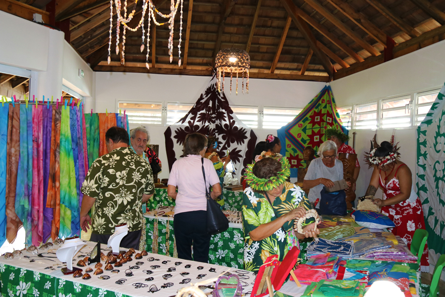 Le deuxième fare artisanal de Paea porte le nom de Pāroa.