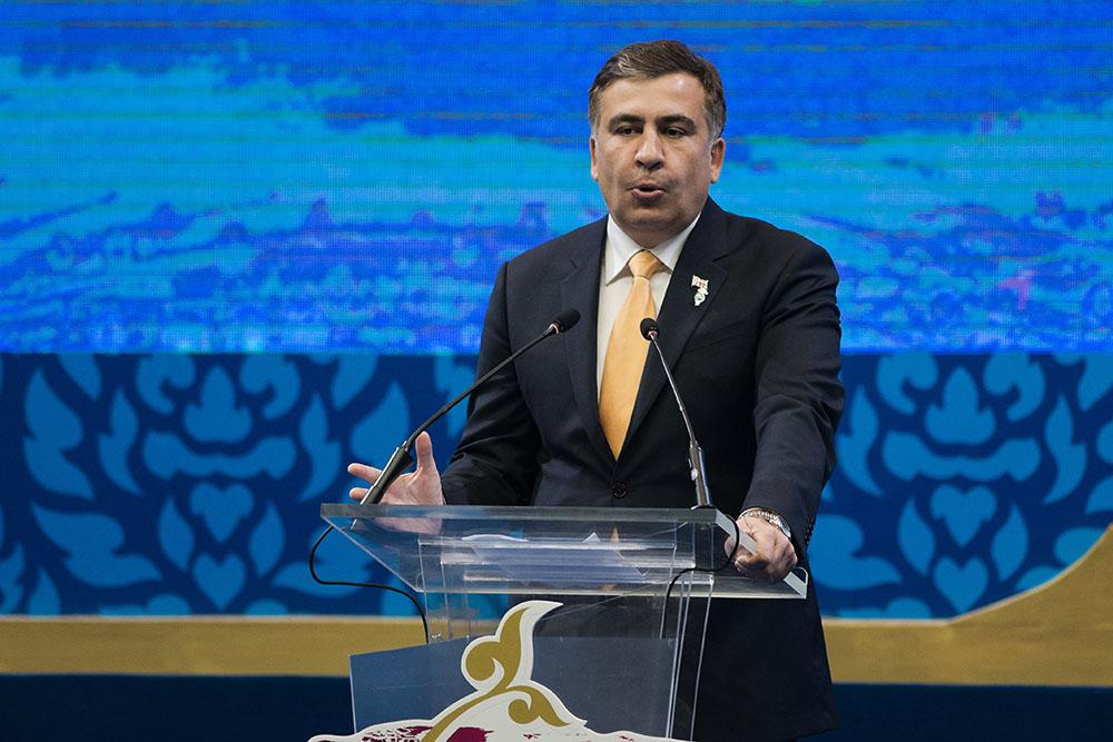 Saakachvili compte sur la mobilisation de ses partisans pour rentrer en Ukraine