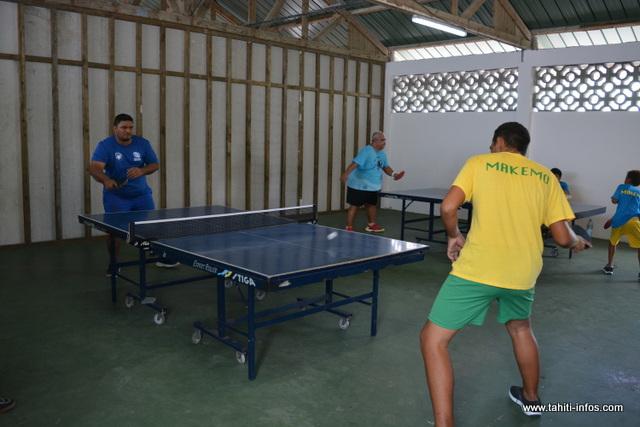 Actuellement, la fédération tahitienne de tennis de table compte plus de 150 licenciés.