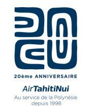 Air Tahiti Nui déclare sa flamme au fenua et révèle le logo de ses 20 ans !