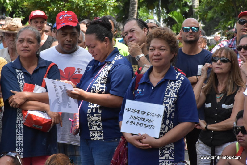 Retraites : grosse mobilisation contre la réforme