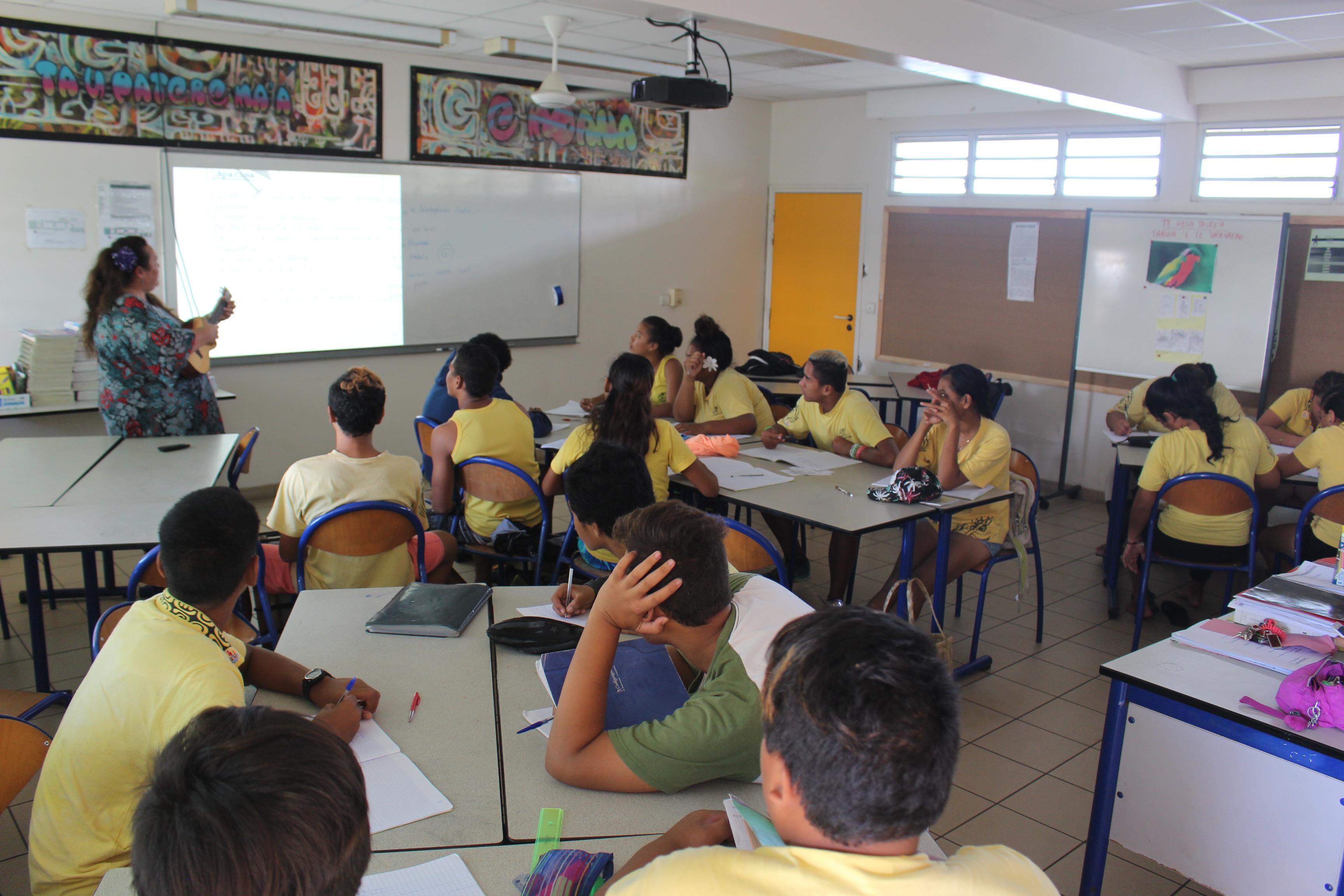 Heiva Taure'a : les collégiens font leur show à To'ata