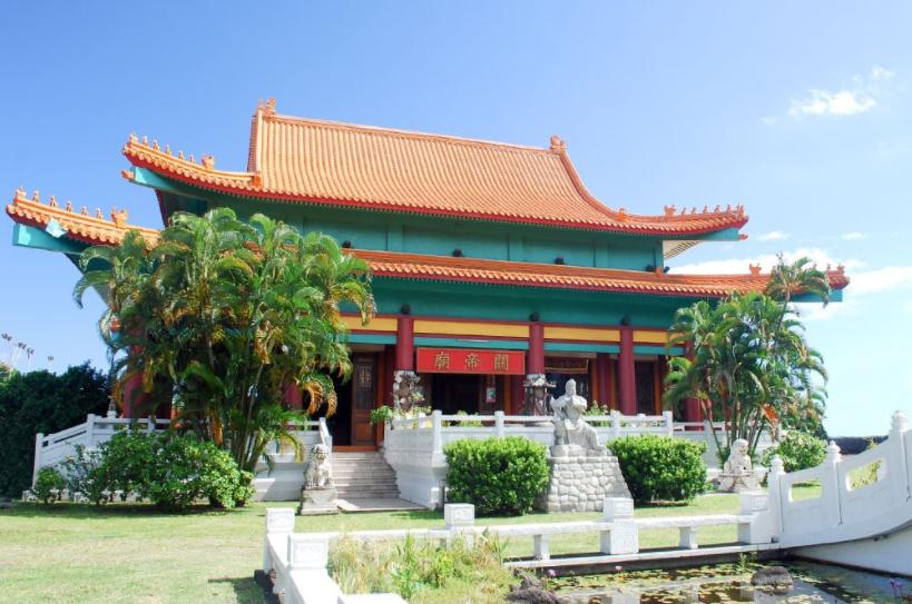 Temple chinois Kanti de Tahiti