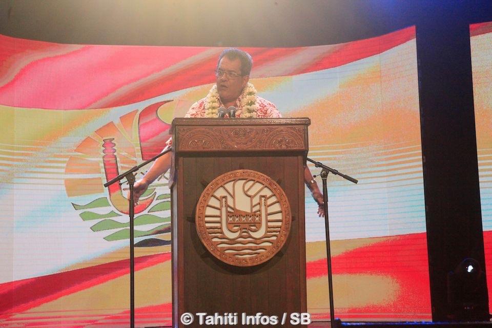 Le discours du Président du Pays