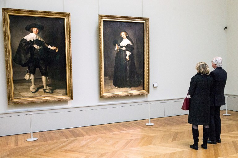 Un double portrait de Rembrandt rénové par une équipe franco-néerlandaise
